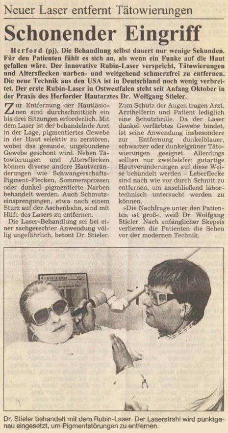 Herforder Zeitung, 17.10.1996